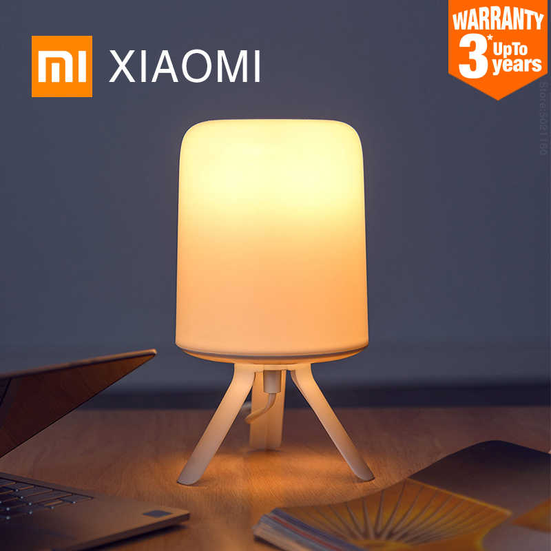 Xiaomi Mijia Philips Bed Lichten Smart Led Tafellampen Indoor Night Lights Slaapkamer Bureaulamp App Controle Gekleurde Licht E27