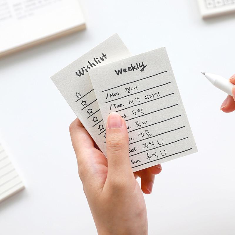 Yoofun 50 lapos kreatív napi menetrend jegyzetfüzet feladatlista - Jegyzettömbök és füzetek - Fénykép 3