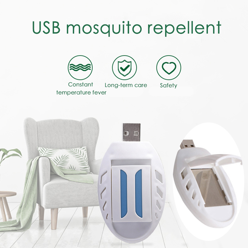 Portable Electric USB Mosquito Repellent Heater Anti Mosquito Killer Pest Fly Insect Heater For Home Or Travel#9