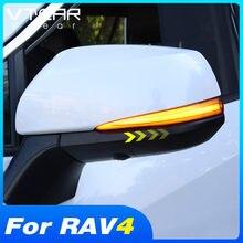 Vdéchir – accessoires pour pare-choc arrière, lumière de frein, clignotant dynamique, pour Toyota RAV4 2019 2020 2021, Modification extérieure de voiture