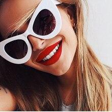 ONEVAN 2021 Big Frame Sunglasses Women Classic Leopard Patter Cat Eye Glasses Femle Travel UV400 Lunette De Soleil Femme