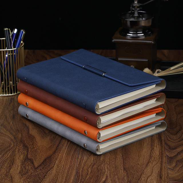 Business Accessories & Gadgets Office Accessories Leather Notebook PU