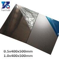 3K Carbon Fiber Plate 100% full Carbon Fiber sheets 400X500mm Thickness 0.5mm 1mm Composite carbon Board High hardness Panel