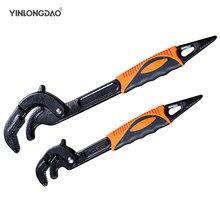 14-30 / 30-60mm Universal Schlüssel Rohr Schlüssel Öffnen Ende Spanner Set High-carbon Stahl snap N Grip Tool Klempner Multi Hand Werkzeug
