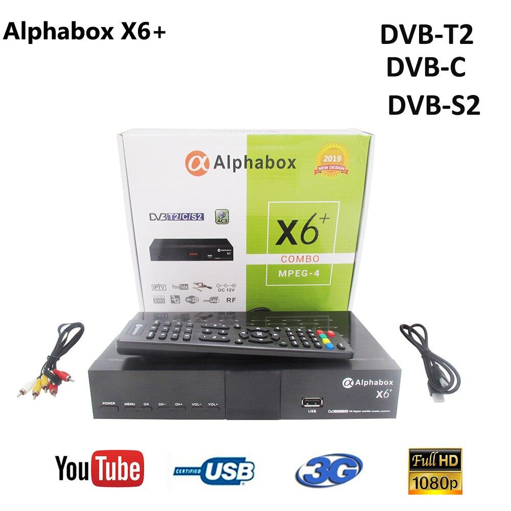 Combo DVB S2/T2/C спутниковый ТВ приемник Alphabox X6 + Поддержка Cccam Newcamd Mgcamd Powervu Ключ ТВ Тернер USB Wifi alphabox x6 +|Спутниковое ТВ|   | АлиЭкспресс