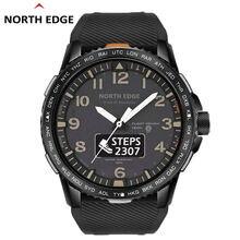 Смарт часы мужские водонепроницаемые с сенсорным экраном и Пульсометром