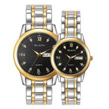 WLISTH Brand Wristwatches for Lovers Watch Men Women Quartz