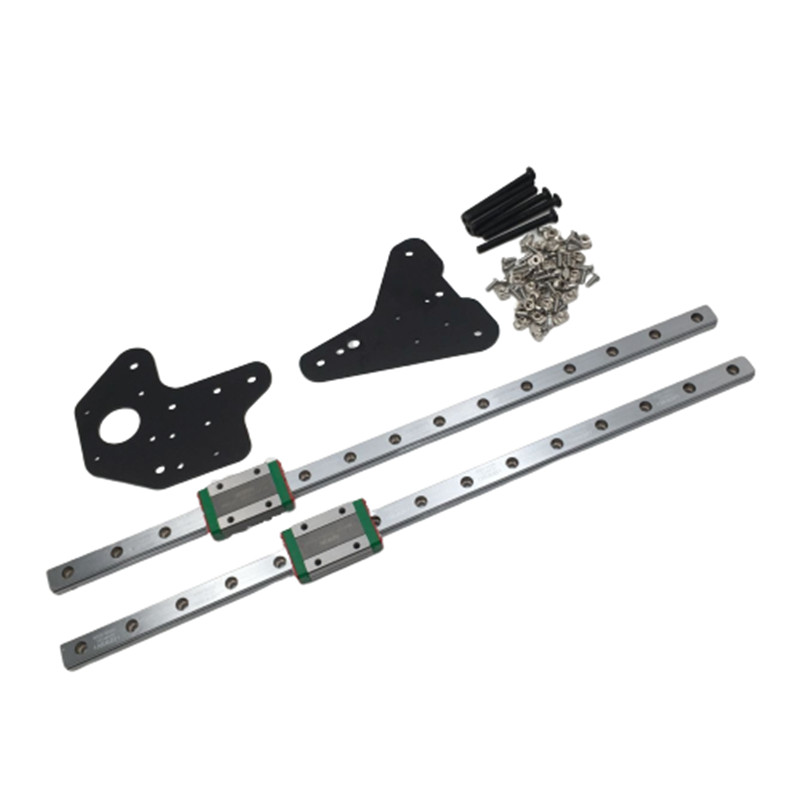 1 Set Creality CR-10 Ender 3/3Pro Dual Z Axis  MGN12H Linear Rails Kit For Creality Ender-3 Ender-3s S4 S53D Printer