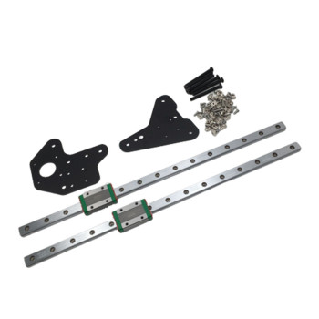 1 set Creality CR-10 Ender 3/3Pro dual Z axis MGN12H linear rails kit For Creality Ender-3 ender-3s S4 S53D Printer фото