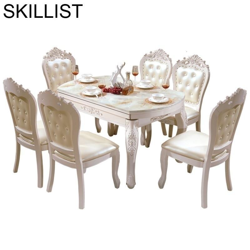 Masasi Manger Moderne Eet Pliante Tafel Tavolo Meja Makan A Langer Wooden European Bureau Comedor Desk Mesa Dining Room Table