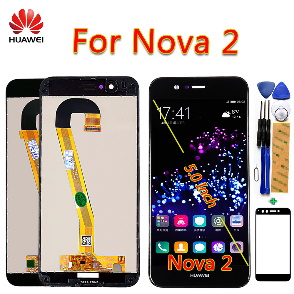 Huawei Nova 2 LCD Display For PIC AL00 PIC L09 PIC L29 PIC TL00 PIC LX9 Touch Screen 5.0 inch Digitizer Assembly Frame with Tool-in Mobile Phone LCD Screens from Cellphones & Telecommunications on