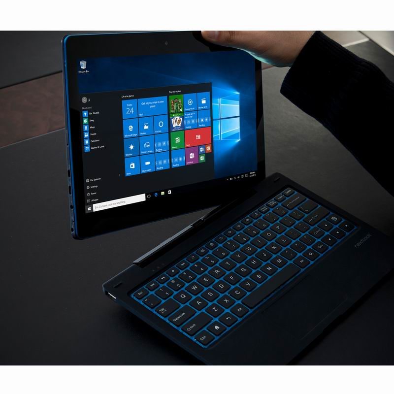 Top Sales!11.6 Inch 1GB+64GB Touch Screen Tablet PC Windows 10 1366*768 IPS Screen HDMI  With Docking Keyboard Case