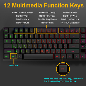 Image 3 - لوحة مفاتيح للألعاب لوحة مفاتيح ألعاب ميكانيكية تقليد لوحة مفاتيح ألعاب RGB مع خلفية لوحة مفاتيح مريحة 104 أغطية مفاتيح للكمبيوتر