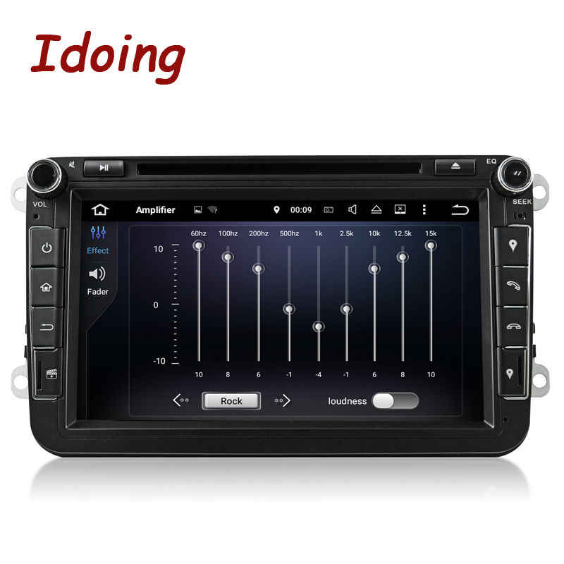 Idoing 2Din Android7.1 8Inch Dvd Auto Multimedia Speler Stuurwiel Voor Vw Polo Gps Navigatie Quad Core Touch Screen radio Tv