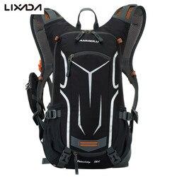 Велосипедные Сумки Lixada, ультралегкий рюкзак для улицы, нейлоновая дышащая велосипедная сумка с дождевой крышкой, гидратационная водонепро...