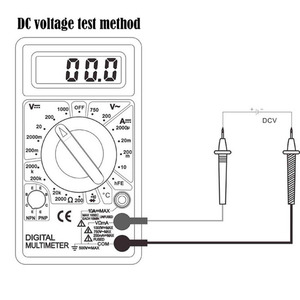 Image 2 - Urijk DT830B AC/DC มัลติมิเตอร์ดิจิตอล LCD 750/1000V โวลต์มิเตอร์แอมป์มิเตอร์ OHM เครื่องทดสอบความปลอดภัย Handheld เมตรดิจิตอลมัลติมิเตอร์