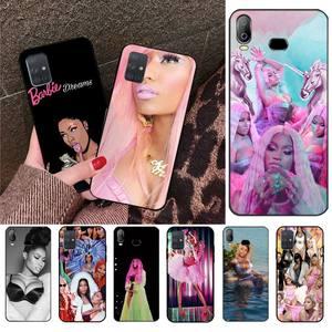 HPCHCJHM Nicki Minaj новое поступление черный чехол для мобильного телефона для Samsung A10 A20 A30 A40 A50 A70 A71 A51 A6 A8 2018