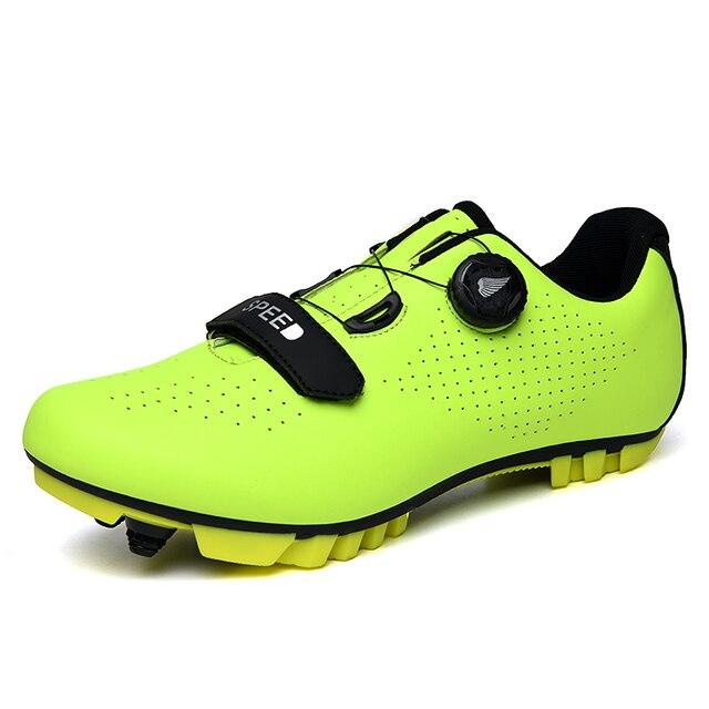 2019 nova bicicleta de estrada sapatos de equitação ultra leve antiderrapante resistente ao desgaste profissional auto-bloqueio sapatos esportes ao ar livre fluorescente b 6