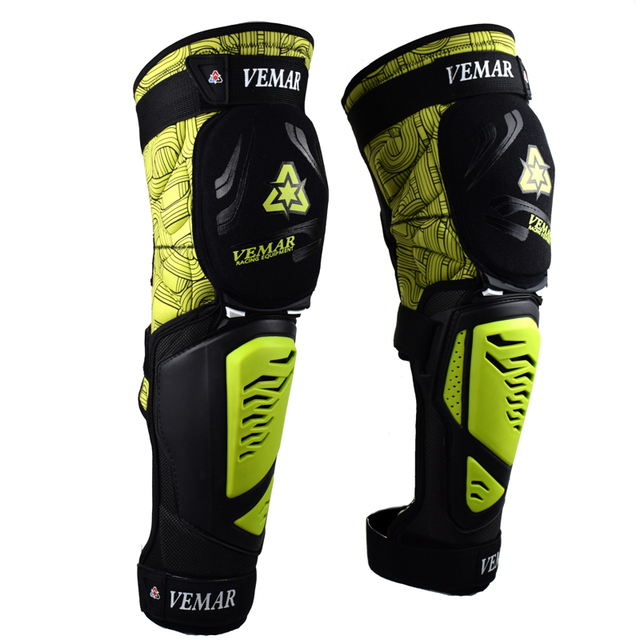 Motorcycle Knee pads Moto Motocross Racing Shin Guards Full protection Gear Riding Knee Protector Pads Motorcycle Knee Slider 2
