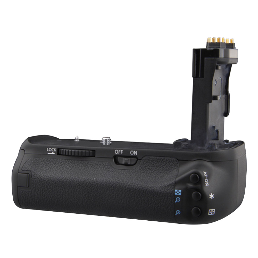 <font><b>Battery</b></font> <font><b>Grip</b></font> Portable Anti Impact Easy Install Professional Replacement Camera Photography Balance Practical For Canon 70D <font><b>80D</b></font> image