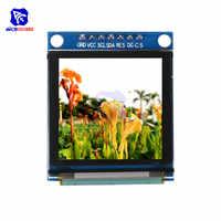 Модуль diymore с OLED дисплеем 1,5 дюйма, 128128 полноцветный I2C IIC последовательный интерфейс SPI SSD1351 драйвер ЖК-модуль для Arduino C51 STM32