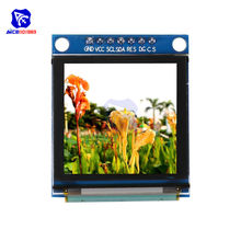 "Diymore 1.5 ""Module d'affichage OLED 128128 couleur I2C IIC SPI Interface série SSD1351 pilote Module LCD pour Arduino C51 STM32(China)"