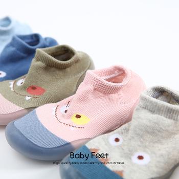 Nowy Baby Boy dziewczyna maluch antypoślizgowe kryty piętro antypoślizgowe kapcie dziecko na zewnątrz oddychające bawełniane skarpety buty skarpety dziecięce buty tanie i dobre opinie Pasuje prawda na wymiar weź swój normalny rozmiar CN (pochodzenie) Chłopcy SOCKS
