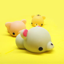 Squishy Cute Panda Chicken Duck Sheep Pig Rabbit Tiger Antistress Squeeze Mochi Rising Abreact Soft Sticky Stress Relief Toy(China)