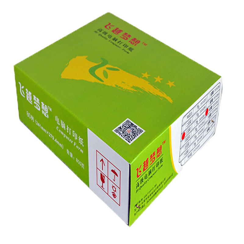 New Products Computer Printing Paper VALUE Dream Suitable Dot Matrix Printer Quan Lian Second-Class Multi-Copy Paper Wholesale