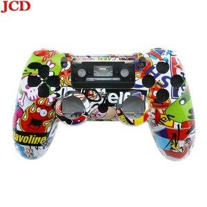 Image 2 - JCD สำหรับ PS4 เปลี่ยนซ่อมแซมเคสเชลล์สำหรับ PS4 Controller สำหรับ DualShock 4 สำหรับ PlayStation 4