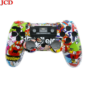 Image 2 - JCD ل PS4 استبدال الغطاء الخلفي غطاء اللوحة إصلاح ل PS4 تحكم الإسكان غطاء ل dualshock 4 حالة ل بلاي ستيشن 4