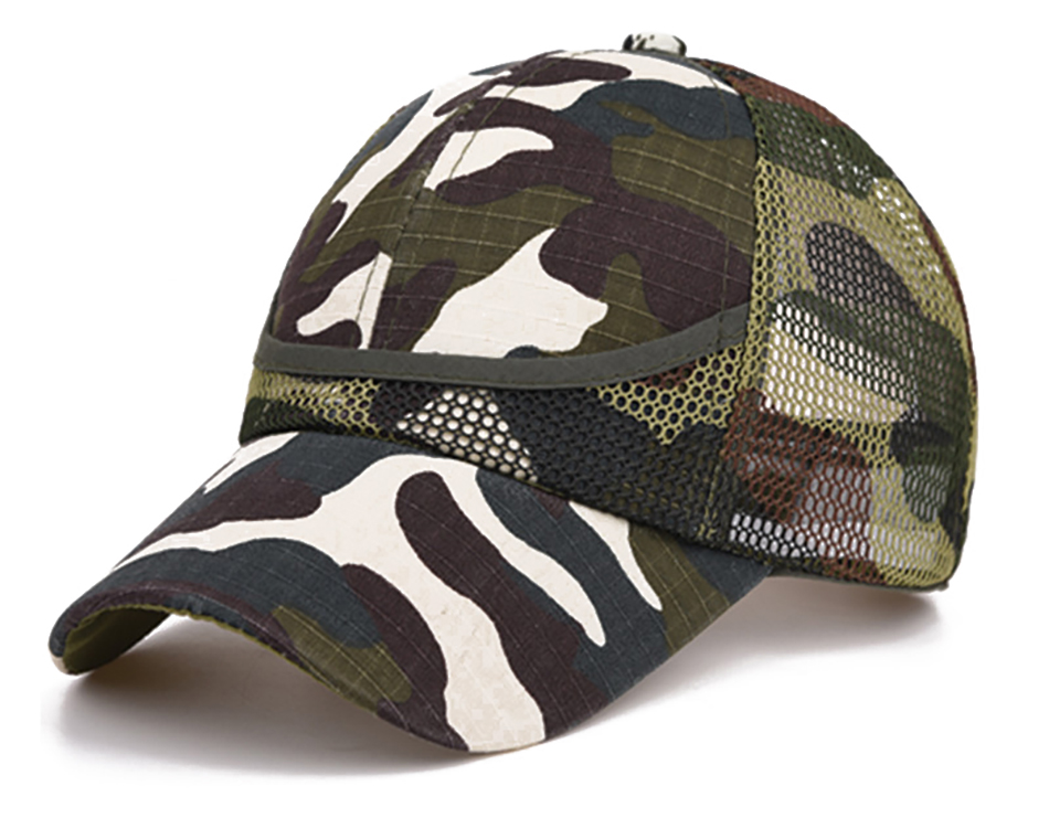 H9823582da4ff45d4ba1aa0f9794baf2eM - 3-9 Yrs Outdoor Camouflage Baby Boy Mesh Baseball Cap Kids Cap Summer Autumn For Boys Girl Caps Net Casual Caps Kids Hats