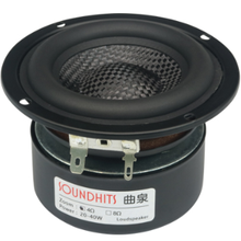 Woofer Hifi Speaker 3inch Strong 2pcs Basin Unit Woven Glass-Fiber Low-Frequency And