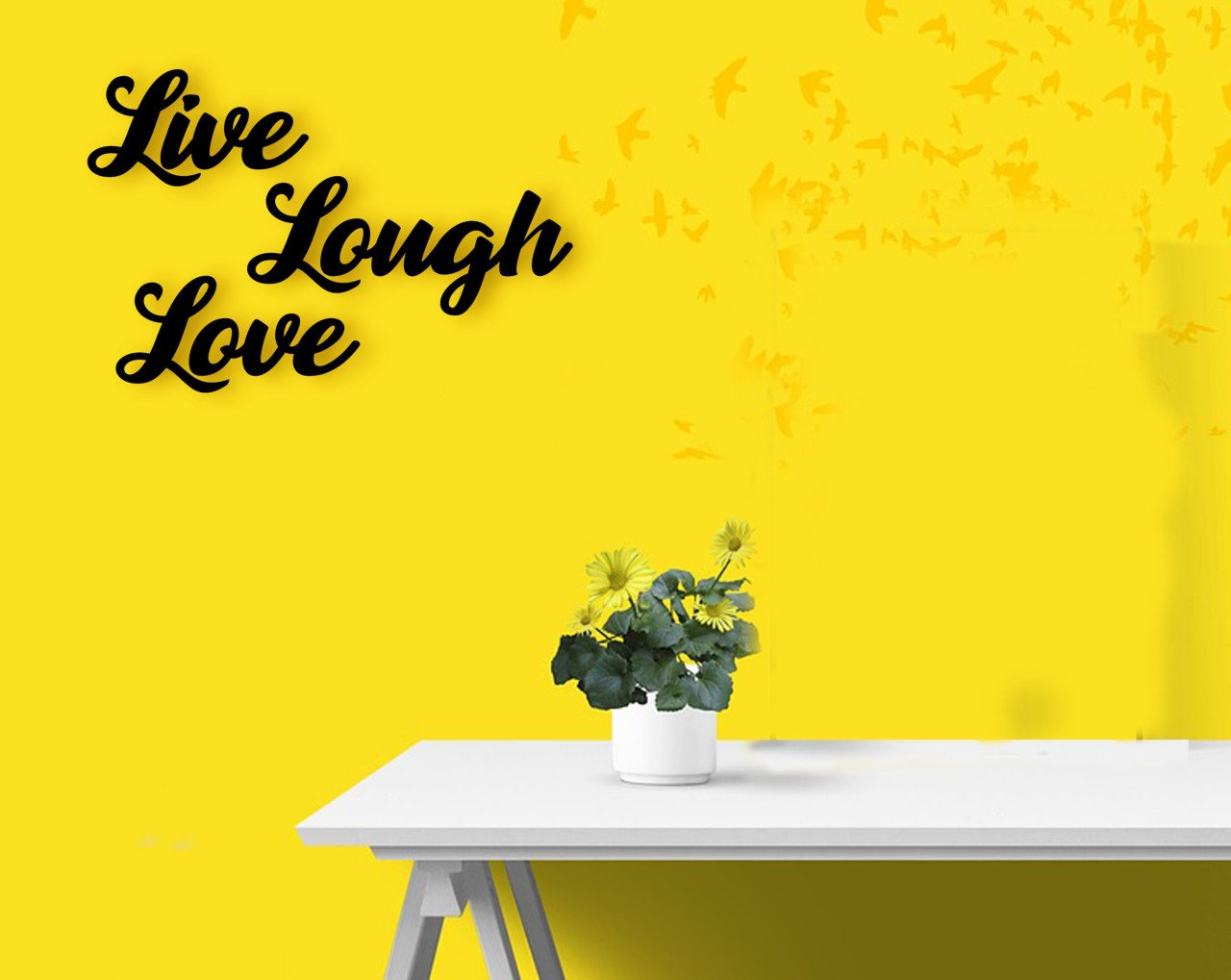 BK Home Live Laugh Love Wood Wall Post Modern Convenient Reliable Decoration Gift Quality Design Simple Vicinity