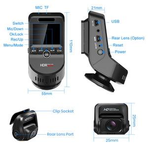 Image 5 - Junsun S590.P 24Hที่จอดรถ 4K WiFi GPSรถDvrs Dash CAM 2160P Dual Lensเครื่องบันทึกภาพ 1080Pกล้องด้านหลัง