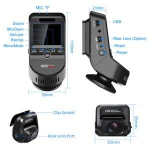 Image 5 - Junsun S590.P 24h Parking Monitor 4K WiFi GPS Car DVRs Dash Cam 2160P Night version Dual Lens Vehicle Recorder 1080P Rear Camera
