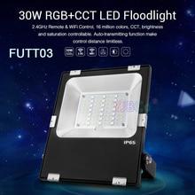 Miboxer 30W RGB+CCT LED Flood light FUTT03 Waterproof IP65 Outdoor lamp For Garden Park garden lighting AC100~240V