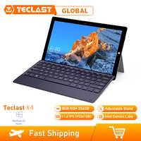 Teclast X4 2 In 1 Tablet Computer Portatile Da 11.6 Pollici Finestre 10 Celeron N4100 Quad Core da 1.10GHz 8GB di RAM SSD DA 256GB HDMI Con La Tastiera Tablet