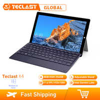 Teclast X4 2 In 1 Tablet Laptop 11,6 Zoll Windows 10 Celeron N4100 Quad Core 1,10 GHz 8GB RAM 256GB SSD HDMI Mit Tastatur Tablet