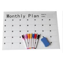 Магнитный еженедельно ежемесячный планировщик календарь доска