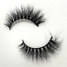 LOVE THANKS 1 Pair 3D Mink Eyelashes natural handmade volume soft lashes long eyelash extension real mink eyelash for makeup S22