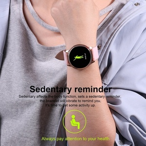 Image 5 - Waterproof Smart Watch Women Lovely Bracelet Heart Rate Monitor Sleep Monitoring Smartwatch Connect IOS Android Wristband