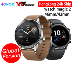 Versión global Honor magic Watch 2 magic 2 Smart watch sangre oxígeno tracker spo2 llamada telefónica ritmo cardíaco Tracker para Android IOS