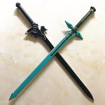 цена на 1:1 Sword Art Online Dark Repulser Kirito Kirigaya Sword Kirigaya Kazuto cosplay prop Yuuki Asuna black sword Christmas present