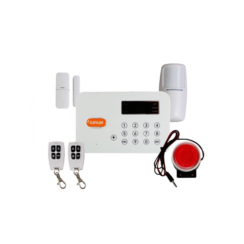 Wireless Alarm Carcam T-220 For Garden, Home, Apartment And Garage