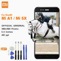 Xiao Mi LCD Touch Screen with Frame Original Display For Xiaomi Mi 5X / Mi A1 5.5 inch Replacement LCDs Display For Mi5X MiA1