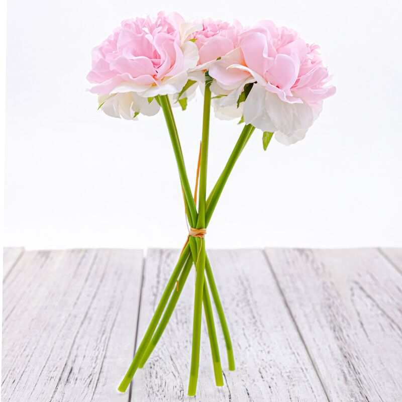 1 Bouquet 5 Heads High Quality Artificial Flower for Home/Wedding Party/Valentines day Decor 15