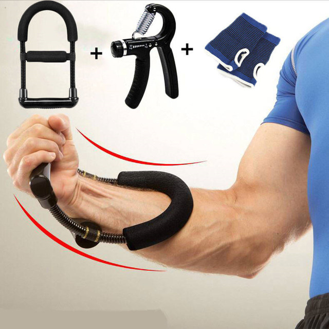 Wrist Strengthener Forearm Exerciser Hand Developer Arm Hand Grips Workout Strength Trainer Home Gym Workout Equipment 1
