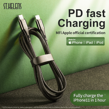 Joyroom MFi USB-C A Lightning Cable para iPhone 11 Pro XR Xs USB de carga rápida Cable USB para iPhone X 8 Plus USB Cable de datos