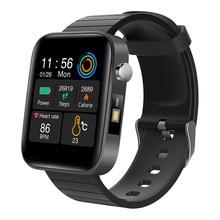 Спортивные часы, модные мужские часы с измерением температуры тела, пульса, артериального давления, кислорода, браслет с напоминанием о зво...
